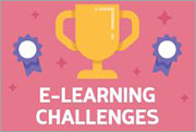 Participate in the weekly e-learning challenges to sharpen your skills